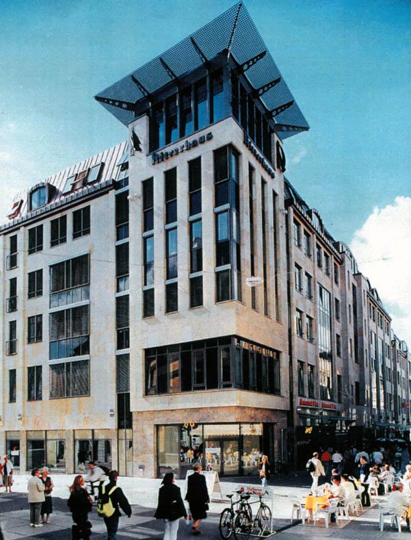 ritterhaus halle architekturb ro neuhoff krefeld. Black Bedroom Furniture Sets. Home Design Ideas