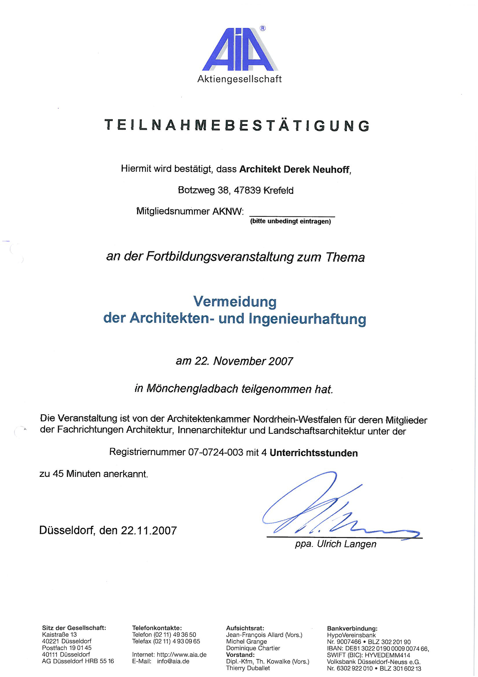 Innenarchitektur qualifikationen for Innenarchitektur krefeld